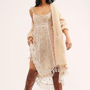 Layered Up Mesh Midi Slip Dress